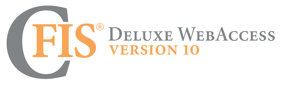 CFIS Deluxe WebAccess Version 10
