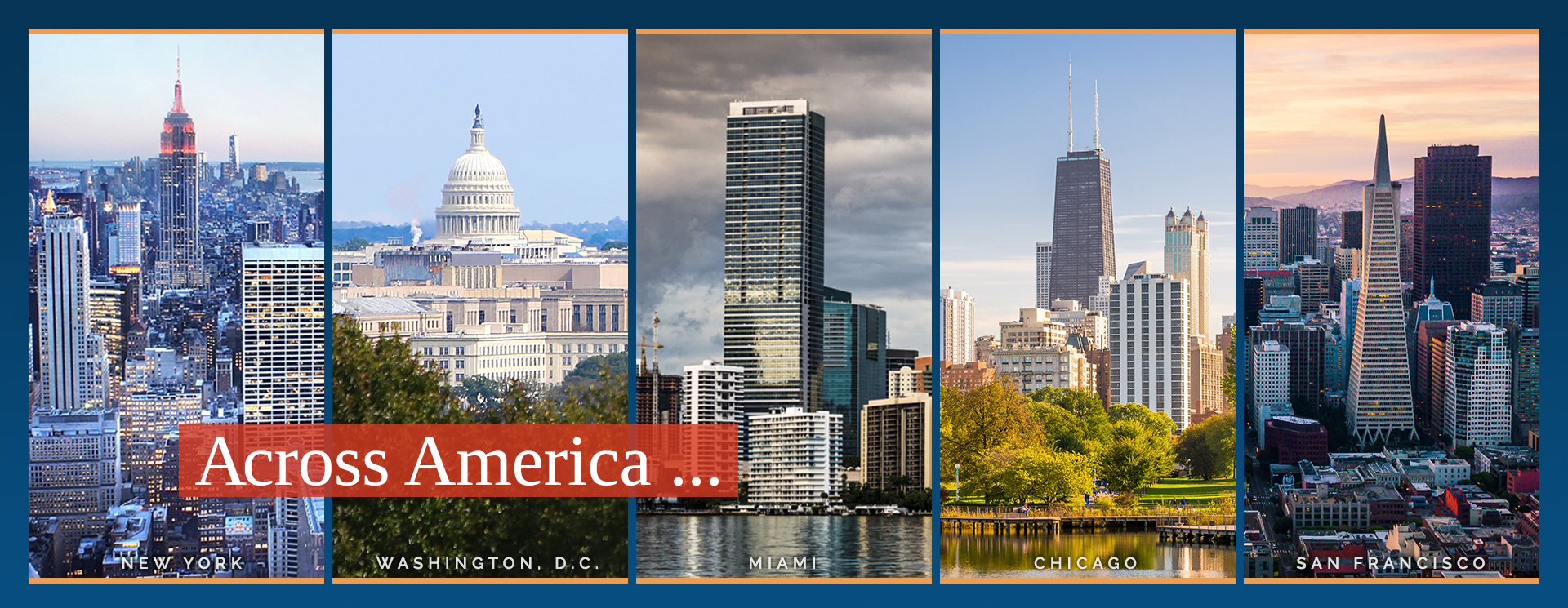 Across America ...